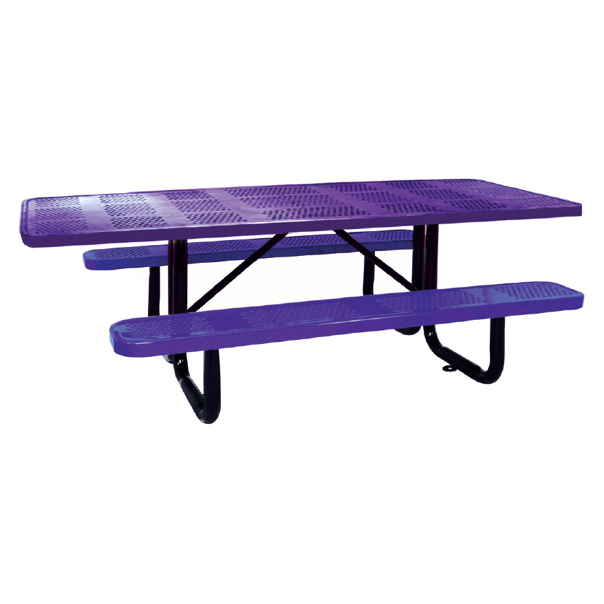Surface Mount Ada Perf Picnic Table ADA Picnic Tables With - Wheelchair picnic table