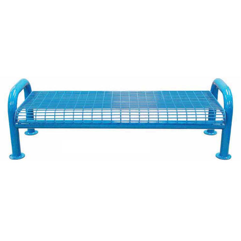 4\' U-Leg Wire Bench, No Back | Backless Benches | Metro Depot LLC